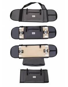 "Skateboard Backpack 7.5"" - 8.5"" Grey"