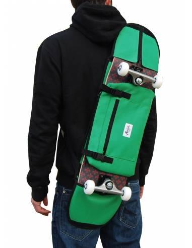 "Sac à dos Skateboard 7.5"" - 8.5"" Vert"