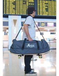 Bolsa de Viaje Skateboard - Duffle Bag - Gris