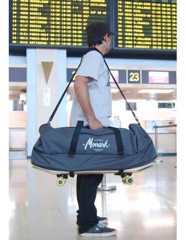 Skate Travel Duffle Bag - Grey