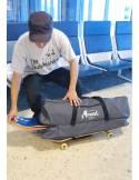 Skateboard Reisetasche - Skate Duffle Bag - Grau