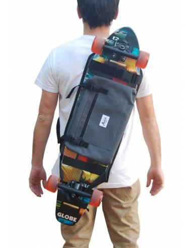The best Longboard Backpack - Gray