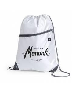 Kleine Skateboard Sack Tasche Monark Supply, Weiß