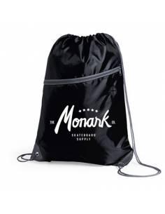 Bolsa saco pequeño de skate Monark Supply, Negra