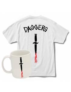 T-Shirt and Mug: Daggers