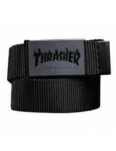 Ceinture Thrasher: Flame Black
