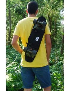 """Skateboard Shoulder Bag 23"""" Black"""