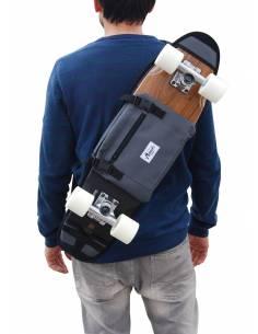 """Skateboard Bandolera 26"""" y 27"""" - Gris"""