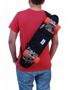 """Skateboard Borsa a tracolla 23"""" Nero"""