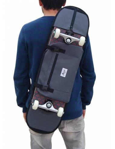 """SKATEBOARD SHOULDER BAG 8.1"""" - 8.5"""" Black"""