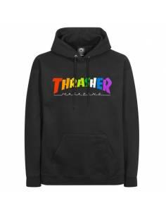 Thrasher Hoodie: Rainbow